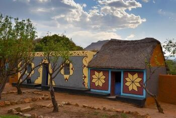Basotho Cultural Village - Golden Gate Highlands National Park
