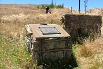 Surrender Hill monument, Clarens, Free State