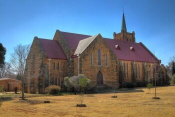 The Dutch Reformed Church in Fouriesburg, Free State